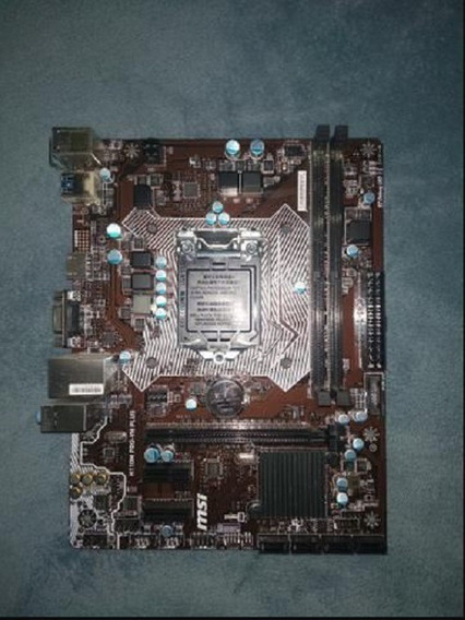 Placa Mãe Msi Intel 1151 H110m Pro-vh Plus