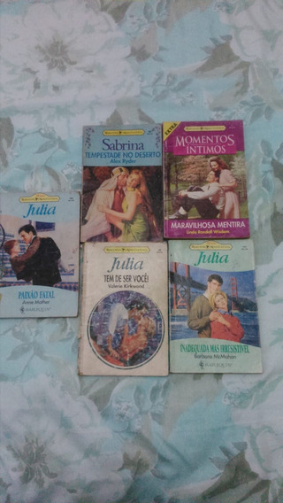 Lote Com 5 Livros Romances