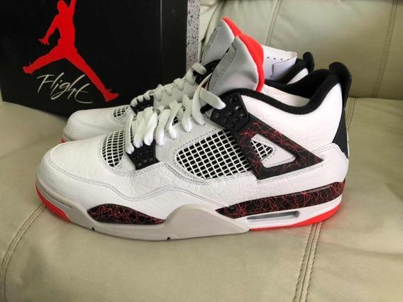 Jordan Retro 4 Hot Lava