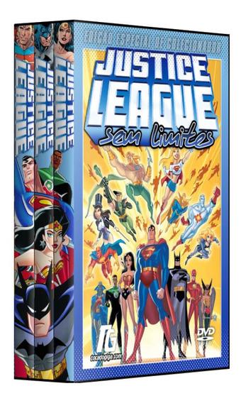 Liga Da Justiça Animated - Série Animada - Completa - 7 Dvds