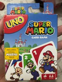 Uno Super Mario Card Game - Pronta Entrega!
