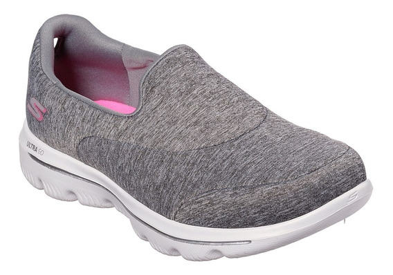 Zapatillas Skechers Go Walk Evolution Ultra 15733/gry Envíos