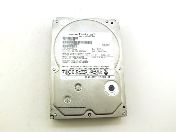 Hd Hard Disk Hitachi 160 Gb Sata 7200rpm 3,5 Polegadas A9766