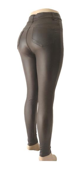 Pantalon Engomado Mujer Elastizado Talles Grandes