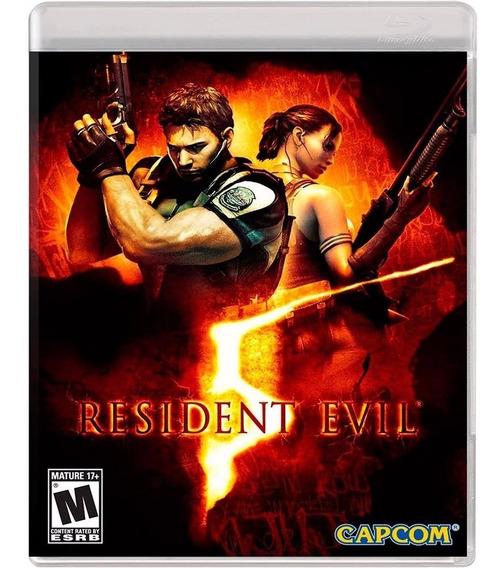 Resident Evil 5 Ps3 - Mídia Física | Com Garantia Playgorila