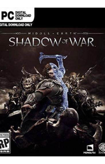 Middle-earth Shadow Of War | Pc | Steam Código 15 Dígitos
