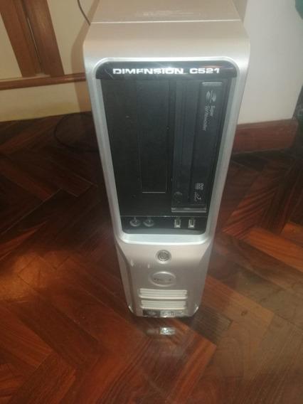 Pc Desktop Dell C521 Con Monitor Soyo Teclado Y Mouse