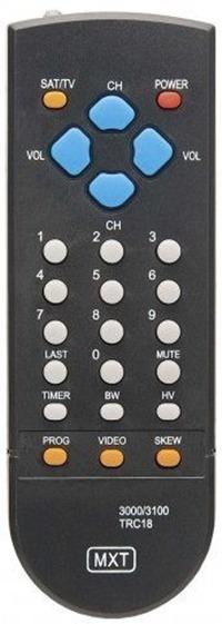 Controle Remoto Receptor Via Satélite Tecsat C0864 Mxt*