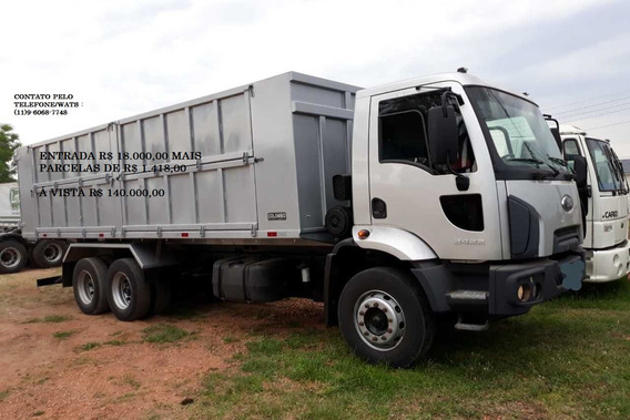 Ford Cargo 2422 Caçamba 2012