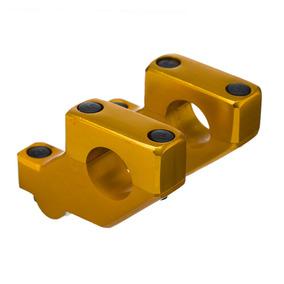 Adaptador De Guidão Avançado Bering Fatbar 28mm Dourado