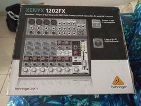 Mesa Behringer Xenyx 1202 Fx Estado De Nova 12 Inputs
