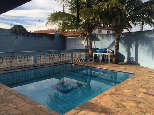 Imagem 1 de 30 de Casa Com 1 Dormitórios E Edícula Completa À Venda, 250 M² Por R$ 620.000 - Jardim América - Rio Claro/sp - Ca0480