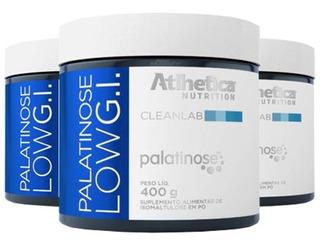 Palatinose Low G.i. - 3x 400 Gramas - Atlhetica