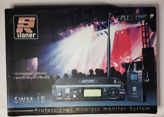 Staner Swm-1e Sistema De Monitoração Wireless In-ear