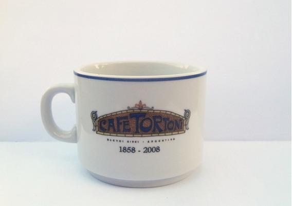 Café Tortoni Bar Notable Taza Café Doble 150 Aniversario