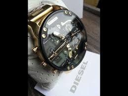 Relógio Diesel Dz7333 2.0 Gold Dourado