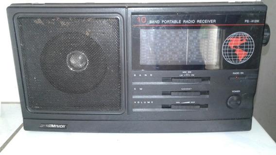 Rádio 10 Faixas Semivox Anos 90