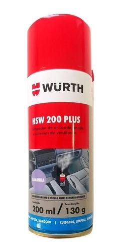 Limpiador Aire Acondicionado Hsw 200 Plus Wurth