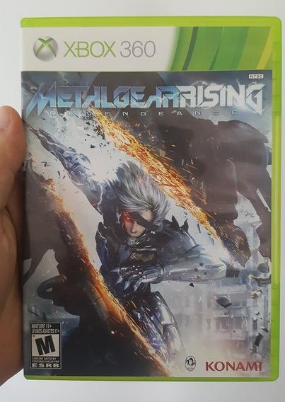 Metalgear Rising Revengeance Mídia Física Original Xbox 360
