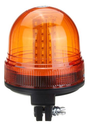 Nuevo Faro Giratorio ámbar intermitente flexible din Tractor de montaje en poste luz de advertencia