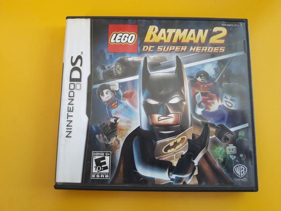 Jogo Batman Lego 2 Nintendo Ds Original Completo