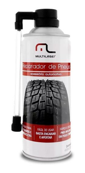 Spray Tapa Furo De Pneus Reparador Carro Moto Multilaser