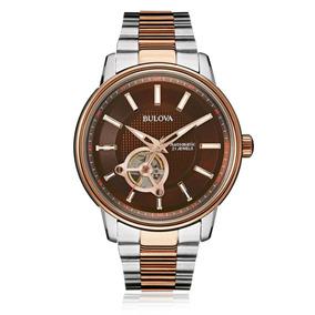 Relógio Bulova Masculino Automático Wb22088x