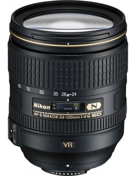 Lente Nikon Af-s Nikkor 24-120mm F/4g Ed Vr Nova