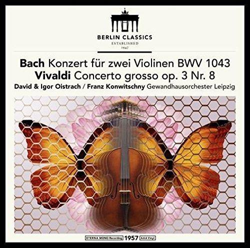 Bach J.s. / Franck / Oistrach / Konwitschny Bach & Vivald Lp