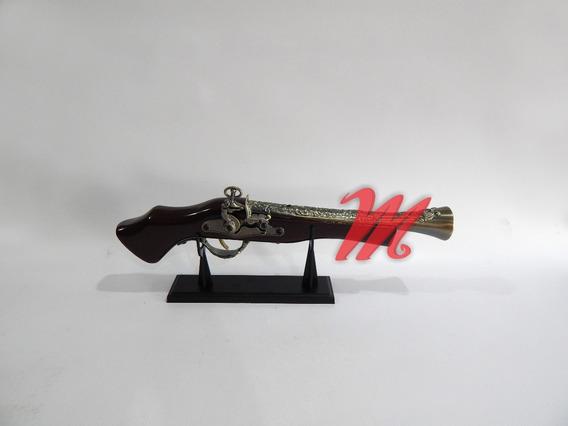Réplica Arma Garruncha Antiga Decorativa Isqueiro