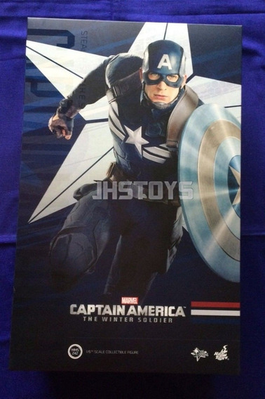 Oferta Hot Toys 1:6 Captain America The Winter Soldier Marve