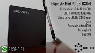 Computadora Gigabyte Mini Pc Gbbsi5h Cpu Escritorio Desktop