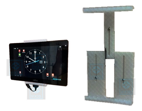 Suporte De Parede iPad Tablet Apple Samsung Universal New