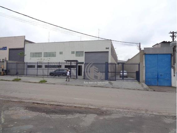 Galpão Para Alugar, 750 M² Por R$ 18.000/mês - Cidade Industrial Satélite De São Paulo - Guarulhos/sp - Ga0357
