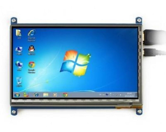 Pantalla Tft 7 Raspberry Pi 2 3 800x480 Tactil Capacitivo