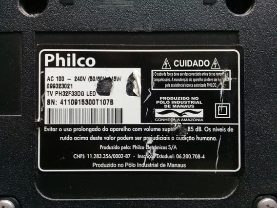 Placa Principal Philco Ph32f33dg