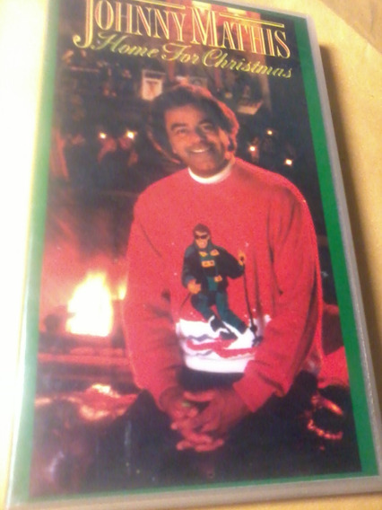 Vhs Johnny Mathis Home For Christmas Original & Zerado