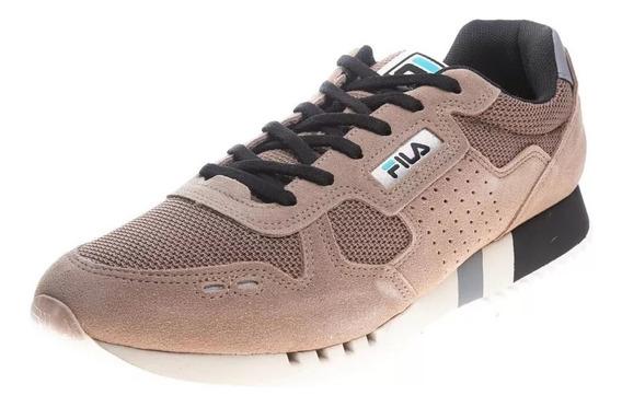 Zapatillas Fila Hombre Marron - Classic 92