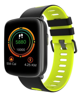 Smartwatch Reloj Inteligente Sumergible Cardio Gv68 Celular Android Apple iPhone Fit Band Deportes Newvision