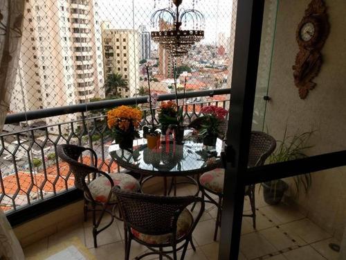 Apartamento À Venda, 86 M² Por R$ 700.000,00 - Jardim Anália Franco - São Paulo/sp - Ap6014