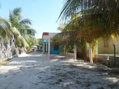 Casa De Descanso En Playa Chelem