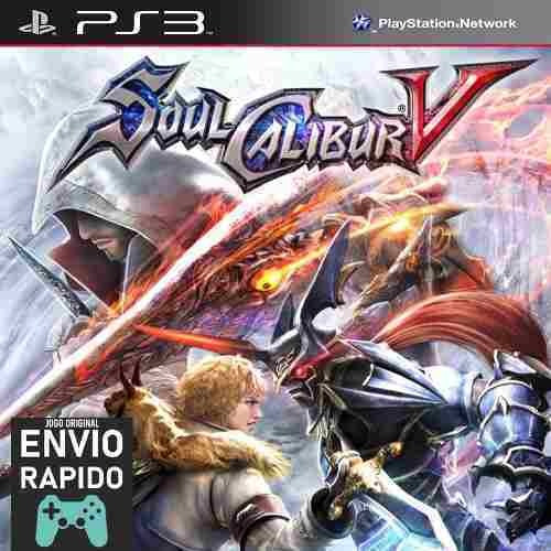 Soulcalibur 5 Soul Calibur 5 - Jogos Ps3 Original