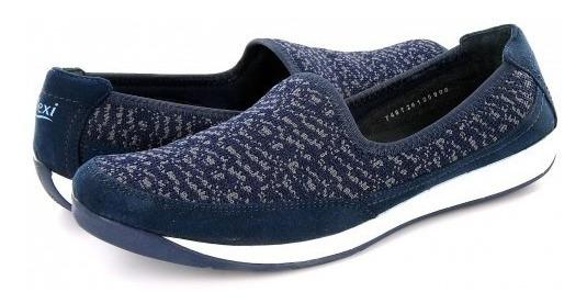 Zapato Confortflexi 28306 Azul 22.0 - 27.0 Damas