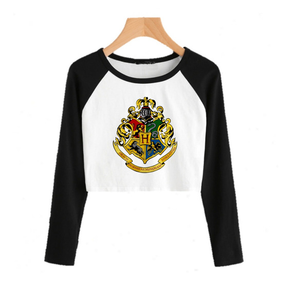 Remera Harry Potter Hogwarts Pupera Moda Modelo 15