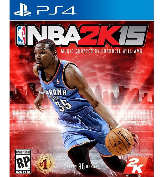 Game Ps4 Nba 2k15 Mídia Física Novo Lacrado