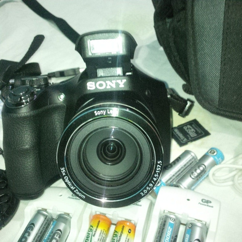 Camara Semi Profesional Sony Dsc H300 Video Hd 180vrd
