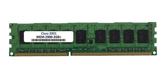 Memória 2gb Dram P/ Cisco 2921 Mem-2900-2gb
