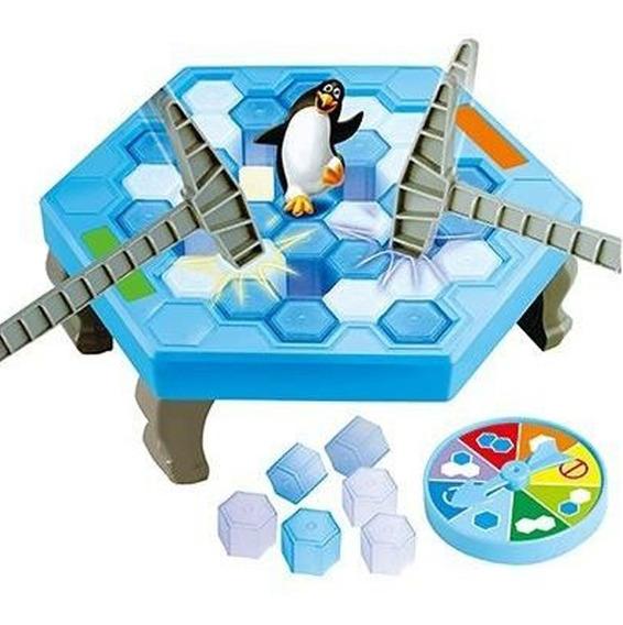 Brinquedo Quebra Gelo Pinguim Numa Fria 47 Peças -art Brink