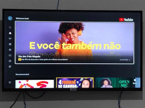 Imagem 1 de 3 de Smart Tv Tcl 43 Seminovo