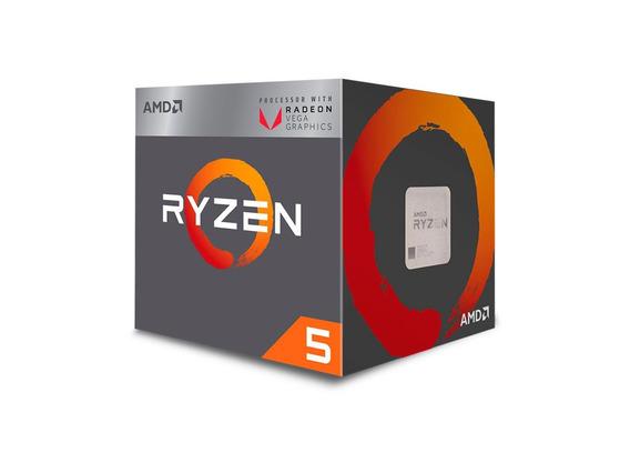 Processador Amd Ryzen 5 2400g Quad Core 6mb 3.9ghz Vega